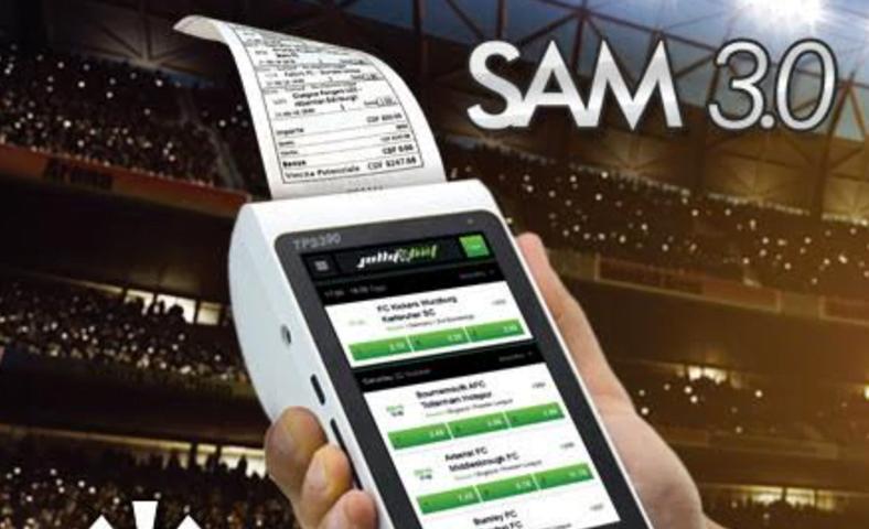 Sirplay betting terminal SAM 3.0