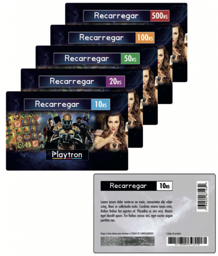 Prepaid card system on betting software