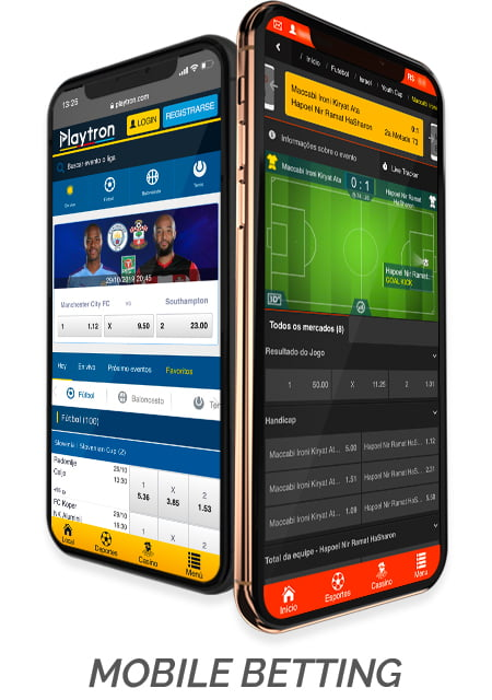 Mobile sports betting software